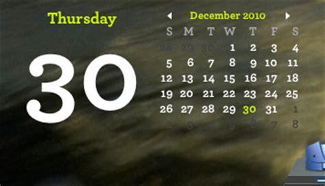 Desktop Calendar Widget Add An Embedded Calendar To Your Desktop Rant Mac