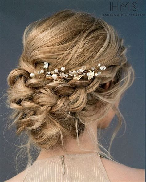 Wedding Hair Updo With Braids by The 25 Best Ideas About Wedding Hairstyles On