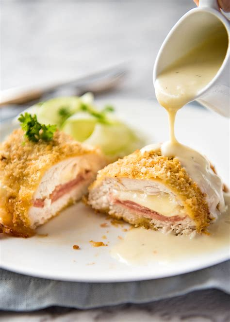 Oshinfood Cordon Blue easy chicken cordon bleu recipetin eats