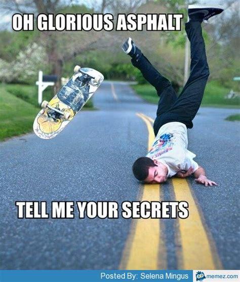 Skateboarding Meme - skateboard fail memes com