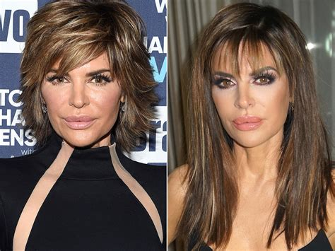 what hair products does lisa rinna use lisa rinna rocks longer locks for first time in 19 years