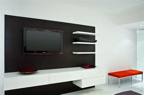 Bedroom Design With Lcd Tv 1702 Residence