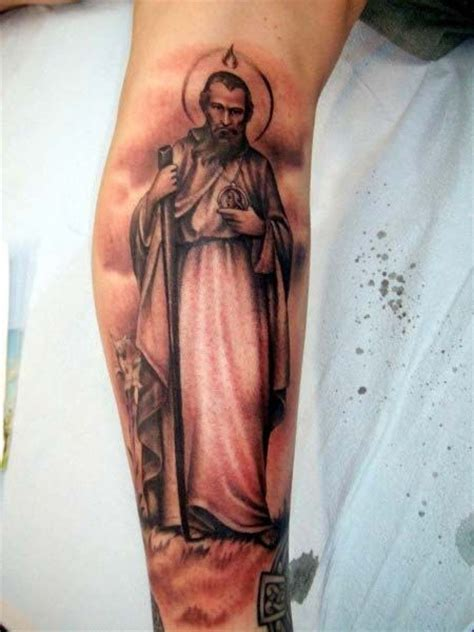 st jude tattoo designs 40 best michael ideas images on
