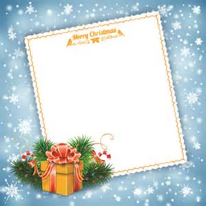 blank paper christmas greeting card vector 02 vector