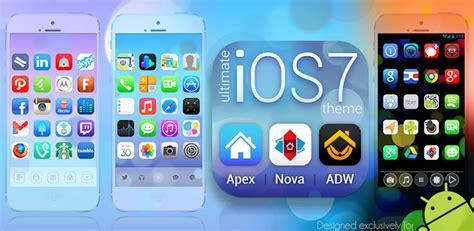 themes apkmania ultimate ios7 apex nova theme v1 6