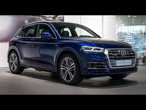 navarra blue metallic audi q5 2017 youtube