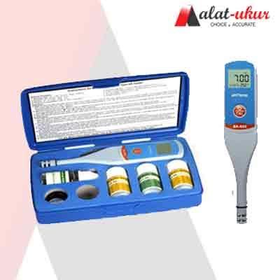 Alat Ukur Ph Meter alat ukur pocket ph meter sx 610