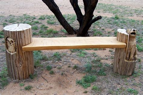 stump bench upcycled tree stump and log ideas the owner builder network