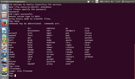 Tutorial Linux Ftp | how to use the linux ftp command to up and download files