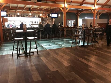 the rocket timbercreek tap and table brings new dining