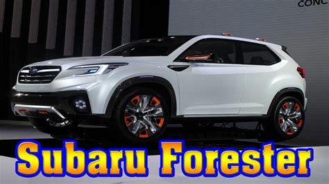 subaru forester redesign 2019 subaru forester redesign platform changes 2018
