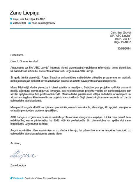 motivācijas vēstule europass motivācijas vēstule