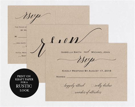 wedding reception card size appealing wedding invitations with rsvp