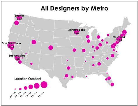 new york graphic design jobs the biggest hotspots for design jobs new york san