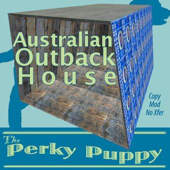dog house australia second life marketplace australian outback dog house