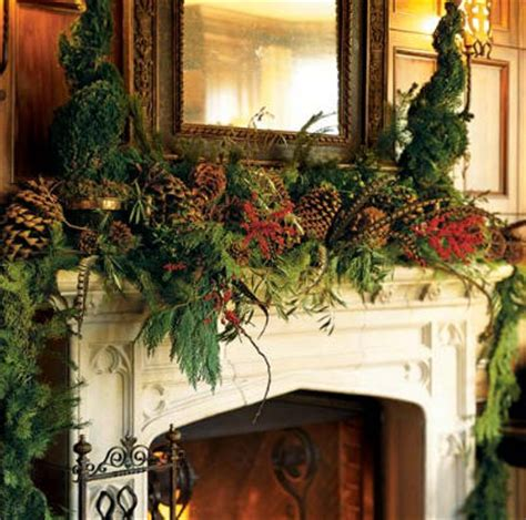 rustic christmas decor southern living mantels archives simplified bee