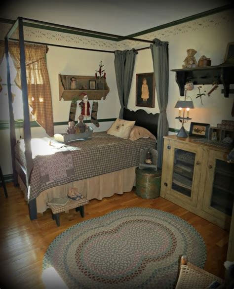 Primitive Bedroom Furniture 92 Best Primitive Bedrooms Images On Bedrooms Bedroom Ideas And Country Homes
