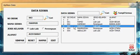 membuat database vba excel edit data melalui userform vba excel thinking and action