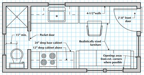 how to draw furniture plans
