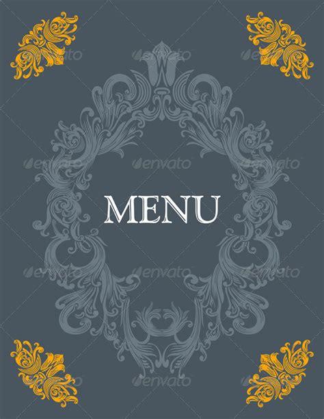 design cover menu vintage menu cover design by kaludov graphicriver
