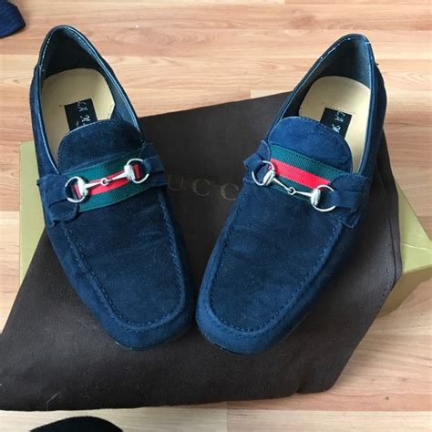 Adidas Slip On Suede Blue s navy blue suede slip ons 7 5 from s closet