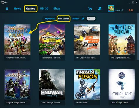 uplay how to access the free demo forums
