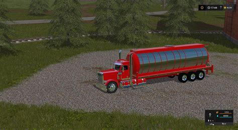Handcrafted Ls - water tank for my peterbilt 388 custom v1 ls 17 farming