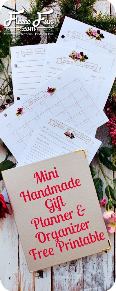 printable handmade gift planner and organizer free 47 best activity aprons boards images on pinterest apron