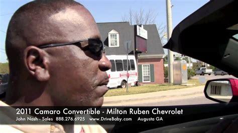 convertible camaro test drive  john nash