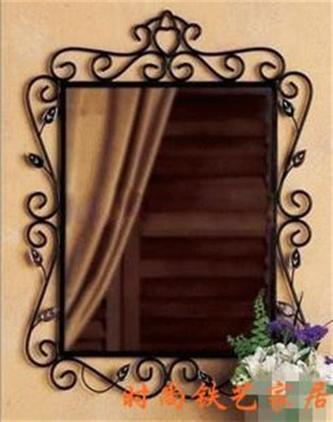 wrought iron bathroom mirrors fashion rustic bathroom mirror wrought iron hanging mirror