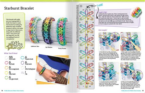 Rainbow Loom Craze Inspires New Book Rainbow Loom Instruction Manual Patterns