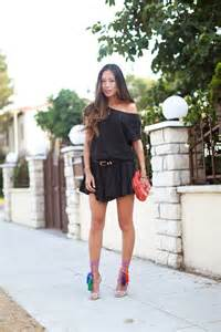Tassels on my feet song of style inspo breezy dress separates