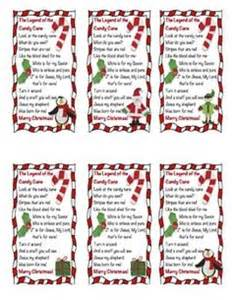 Of candy cane story printable candy cane legend printable legend