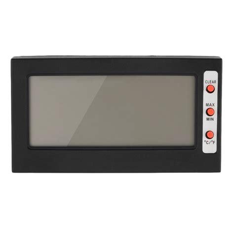 Lcd Ad Max U digital lcd thermometer hygrometer max min memory celsius fahrenheit e0