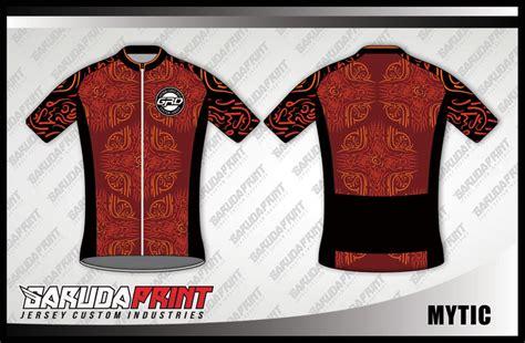 design kaos gowes desain kaos sepeda road bike code mytic garuda print