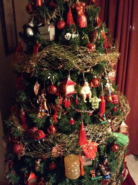 17 best images about asian themed christmas trees on