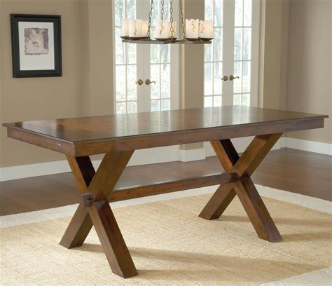 park avenue trestle table transitional hillsdale park avenue counter height trestle table dunk bright furniture pub tables