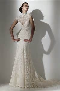 Vintage inspired lace wedding dresses pjbb gown