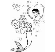 Ariel Coloring Pages 2