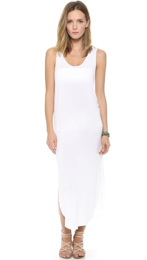 On Our Radar Riller Fount by Riller Fount Keith Side Slit Maxi Dress White In White