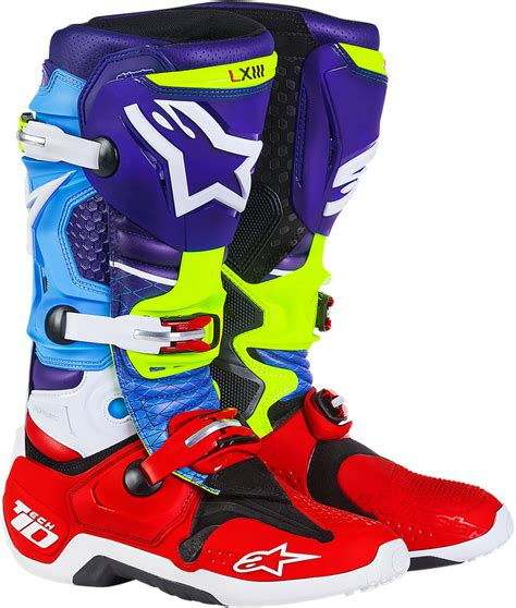 ride tech motorcycle boots 599 95 alpinestars mens tech 10 limited edition venom 987356