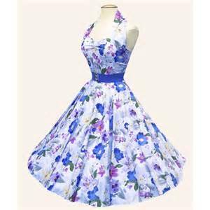 1950s halterneck retro fabric dress from vivien of holloway 1950s