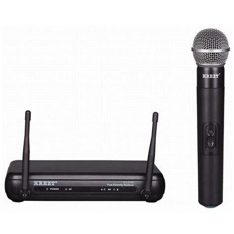 Mic Wireless Krezt Kx 8828 Pegang jual mic krezt kx 610 murah primanada