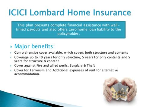 icici lombard house insurance icici lombard insurance