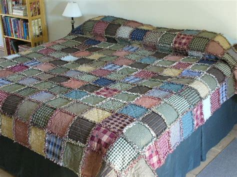 Rag Quilt Diy by Rag Quilt Kit Diy Prefringed King Size 100x100 Gorgeous
