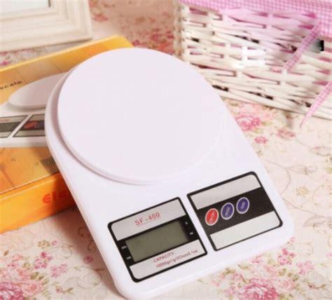 Terbatas Timbangan Dapur Sf 400 10kg Digital Elektronik Kitchen Scale timbangan dapur digital sf 400 bibitbunga