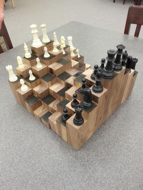 chess board design 3d chess board