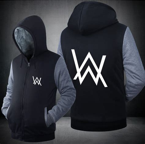 Hoodie Alan Walker Salsabila Cloth 1 usa size alan walker faded jacket sweatshirts thicken hoodie coat clothing casual in