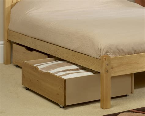 bed with storage under friendship mill under bed storage drawers from