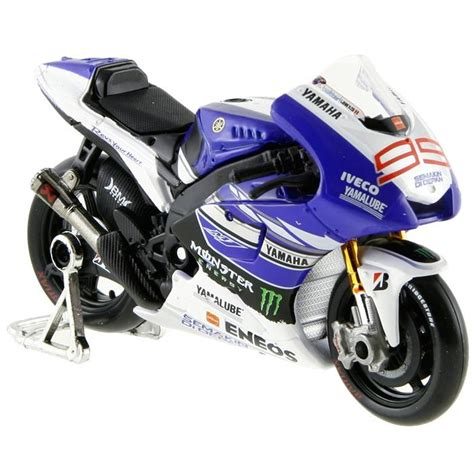 maisto  yamaha racing model motorsiklet  loco